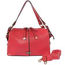 Coach Madison Exotic Medium Red Shoulder Bags CIT