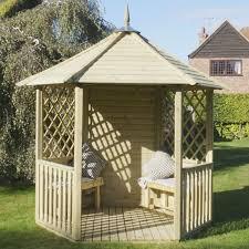 garden gazebo. Mercia Open Wooden Garden Gazebo