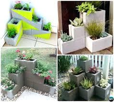patio garden box patio garden corner cinder block planter simple cinder block garden projects gardening patio patio garden box