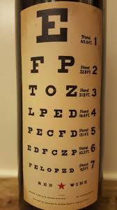 Wine With Eye Chart Label Nv Eye Chart Wines Usa California Cellartracker