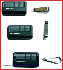 liftmaster garage door remote programming