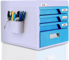 File holder box Stand Locking Drawer Cabinet Desk Organizer Home Office Desktop File Storage Box W4 Lock Drawers Great For Filing Organizing Paper Documents Tools Souqcom Locking Drawer Cabinet Desk Organizer Home Office Desktop File