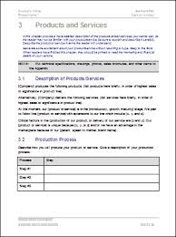 Free Business Plan Templates Word Business Plan Templates 40 Page Ms Word 10 Free Excel
