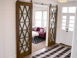 sliding door ideas best 25 mirrored barn doors ideas on walking closet mirrored barn door