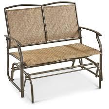 castlecreek double glider chair