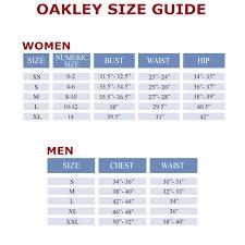 Oakley Boot Size Chart