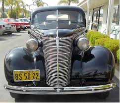 1938 Chevrolet 2 Door Town Sedan