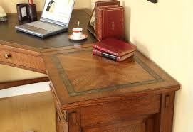 corner desks for home office. Home Engaging Corner Desk Office 12 Entrancing Desks Design Ideas Brown Color Wooden Curve Shape With For