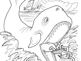 3 Jonah Bible Coloring Pages Free Printable Jonah And The Whale
