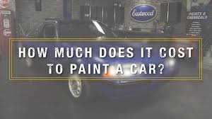 how much does it cost to paint a car kevin tetz on professional paint jobs eastwood