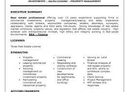 Resume Property Management Resumes Famous Property Management