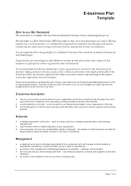 Small Business Plan Template Doc Business Plan Templates Printable