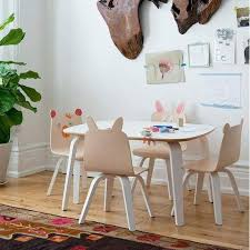 rabbit play chair set of 2oeuf llc furniture chair set71 furniture