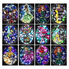 Mermaid Stained Glass Pattern Interesting Design Inspiration