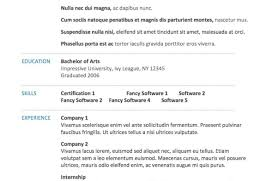 Resume Outline Microsoft Word | Krida.info
