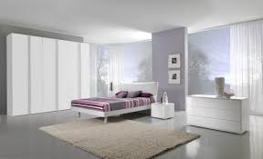 beautiful white bedroom furniture. Beautiful Modern White Grey Bedroom Decoration Design Using Triple Wardrobe Including Ikea Furniture And Large Glass Wall In