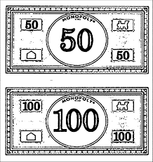 Monopoly Money Coloring Page Wecoloringpage Coloring Home