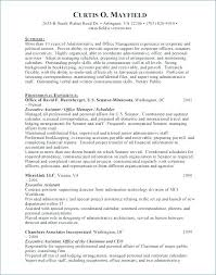 Executive Assistant Resume Objective Resumes For Administrative Assistants Entry Level Administrative 35