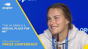 Aryna Sabalenka Press Conference