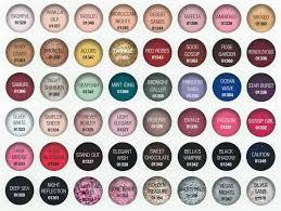 Opi Gel Nail Polish Colors Chart 2018