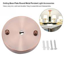2018 10cm ceiling light base plate round metal pendant light lamp holder plate lighting accessories modern bedroom home decor from fried 54 28 dhgate