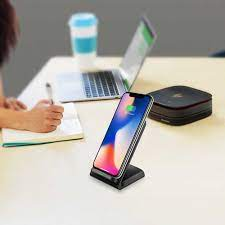 Kablosuz şarj Xiaomi Mi 9T Pro hızlı şarj Dock standı masası Samsung Note10  Pro Oukitel C16 Pro QI kablosuz şarj|Cep Telefonu Şarj Cihazları