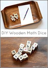 Wooden Math Games