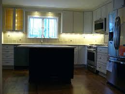 kitchen cabinet lighting strip lights installing under led recessed counter