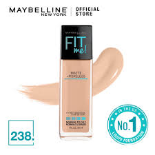 maybelline fit me matte poreless liquid foundation 30ml