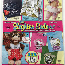 the cover of the lighter side gift catalog