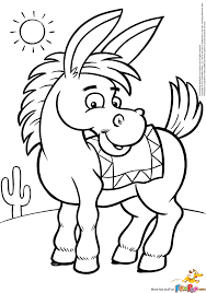 Small Picture Donkey Coloring Pages Printable Quinta Pinterest Donkeys