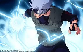 Anime Naruto Blue Anime Kakashi Hatake ...