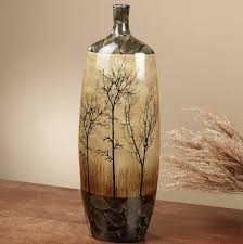 Small Picture Tall Floor Vase 9540