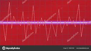 Neon Light Spectrum Sound Waves Oscillating Glow Neon Light Spectrum Analyzer