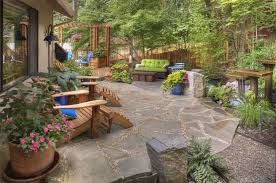 flagstone landscaping. Gregg And Ellis Landscape Designs - Portland, OR Flagstone Landscaping