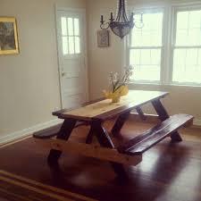 rustic indoor picnic tables coma frique studio d90216d1776b