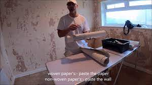 The reasons we use lining paper - YouTube