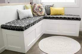 how to build a banquette seat with