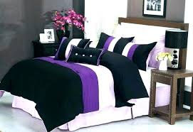 dark purple bed set bedding sheets comforter deep violet duvet cover linen queen king d bath