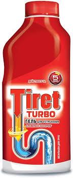"""Гель <b>для удаления</b> засоров """"<b>Tiret</b> Turbo"""", 500 мл"""