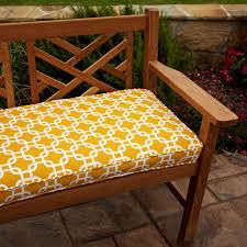 Mozaic pany Sunbrella Corded Indoor Outdoor Bench Cushion 4