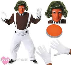 image is loading mens chocolate factory worker costume book film character