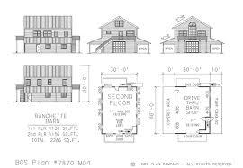 neak pole barn with apartment floor plans