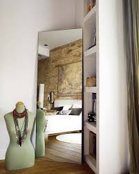 Wonderful A Mirror In The Corner Gives Some Volume To The Bedroom