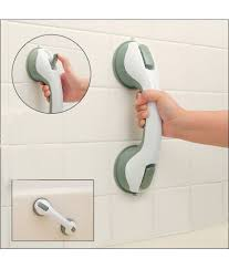 spider man bathroom safety helping handle suction based