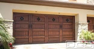 rustic garage doorsMediterranean Revival 14  Custom Architectural Garage Door