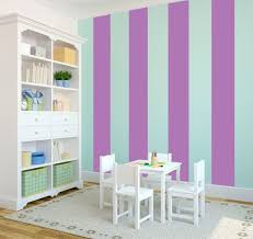 purple and teal striped bedroom - Google Search