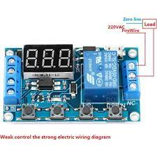 Joytech Dc 6-30V Zaman Ayarlı Geciktirmeli 12V 24V LED Ekran Zaman Rölesi