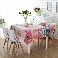 natural cotton and linen cloth table cloth desk cover cloth round table cloth cartoon table cloth