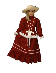 Girls Victorian Fancy Dress Costume (Age 7 8) Image